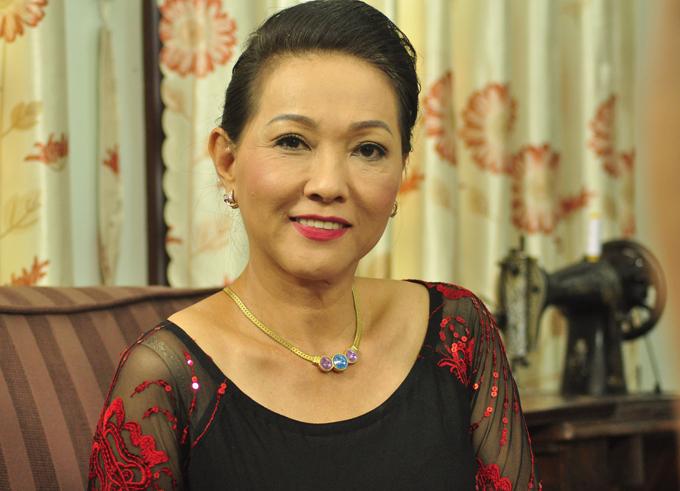 Nghệ sĩ Phương Dung trong vai mẹ của Lê Bê La.