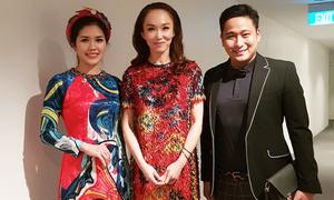 Vợ chồng Minh Tiệp hội ngộ Phạm Văn Phương tại Singapore