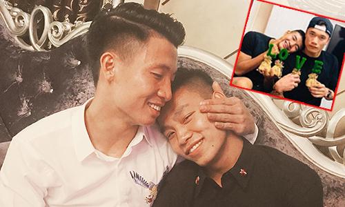Những khoảnh khắc tình cảm, nhí nhảnh của U23 Việt Nam