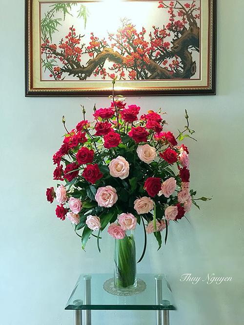 Mẹ Hà thành chia sẻ bí quyết cắm hoa đẹp chơi Tết - 9