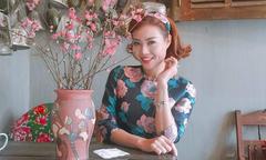 Thanh Hương thường được chồng tặng quà mỗi khi giận dỗi
