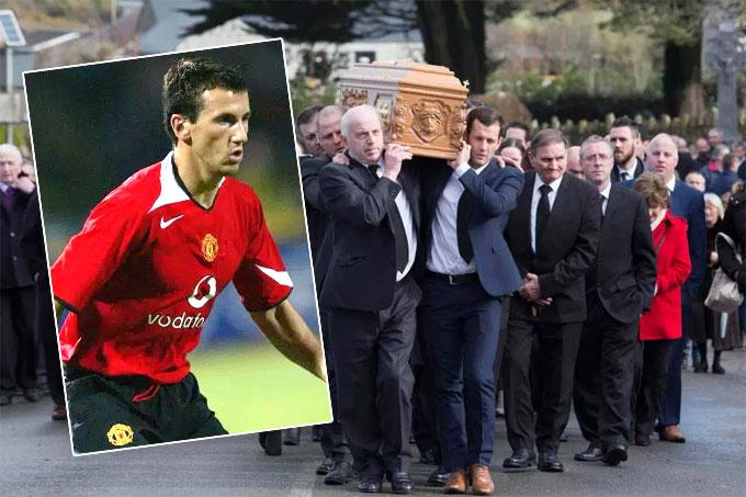 Roy Keane đến vĩnh biệt đàn em xấu số ở MU - 1