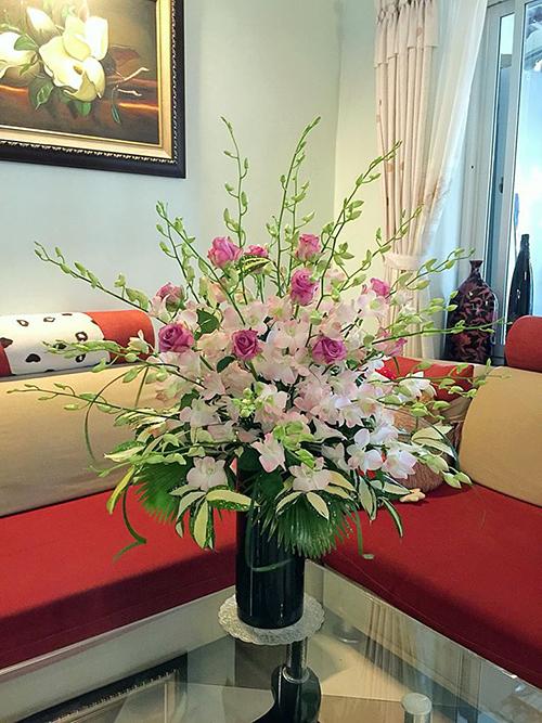 Mẹ Hà thành chia sẻ bí quyết cắm hoa đẹp chơi Tết - 5