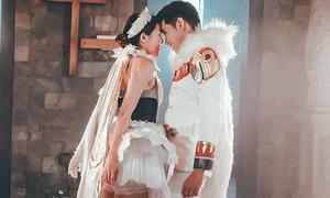 Quang Đăng tình tứ nhảy múa cùng Hoàng Yến