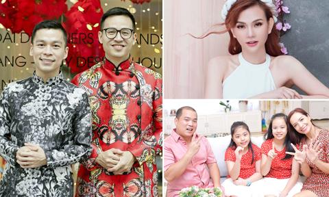Những món ăn và điểm du lịch của sao Việt ngày mùng 1 Tết