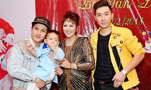 Phi Thanh Vân mở tiệc mừng con trai tròn 2 tuổi