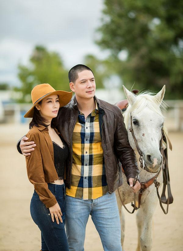 Mai Thu Huyền và Bình Minh là hai diễn viên chính của phim.