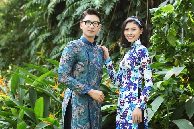 Người đẹp khá thân với giải đồng Siêu mẫu 2015 Trần Trung. Nhân dịp xuân Mậu Tuất, cả hai rủ nhau dạo chơi, chụp ảnh kỷ niệm.