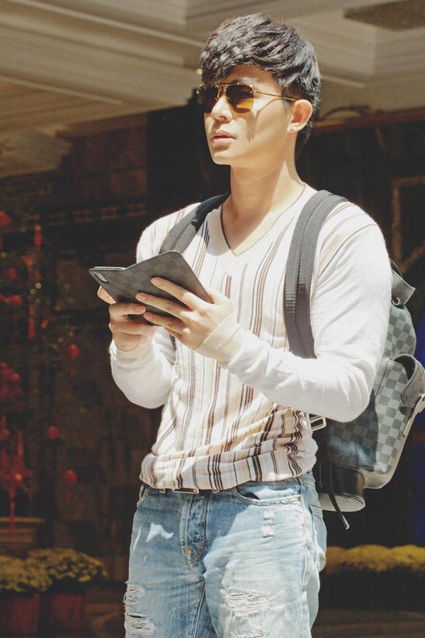 Nathan Lee là tay chơi hàng hiệu nổi tiếng của làng giải trí.
