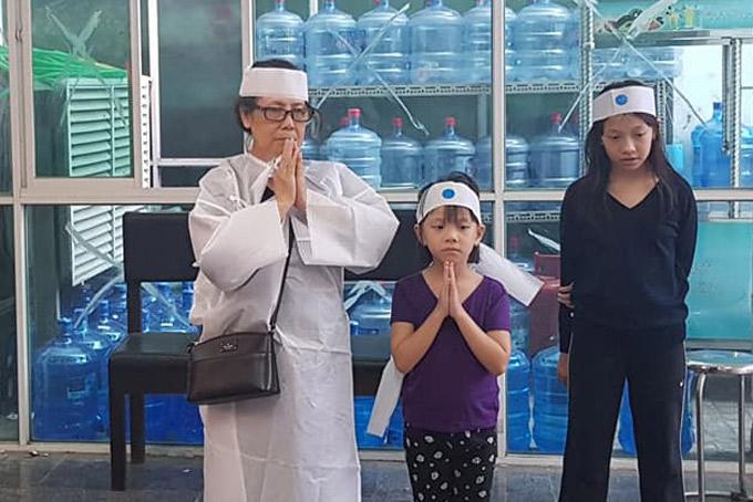 Vợ Nguyễn Hậu sức khỏe yếu, hiện ở nhà làm nội trợ. Sau khi ly hôn, cô con gái đưa hai con về nương nhờ, sống cùng ông bà ngoại