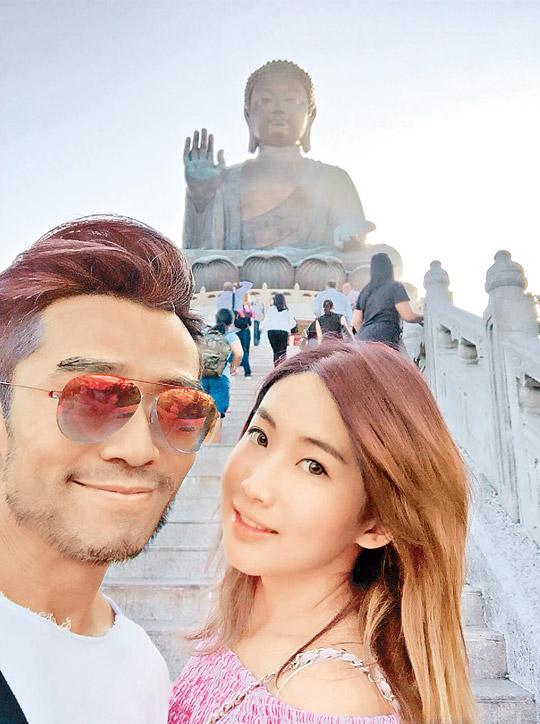 Tài tửĐường Văn Long và bạn gái mới Hoàng VănÝ.
