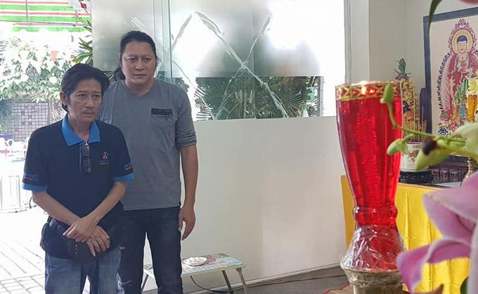 Diễn viên Mai Sơn Lâm và Thế Phương từng đóng nhiều phim truyền hình cùng Nguyễn Hậu.