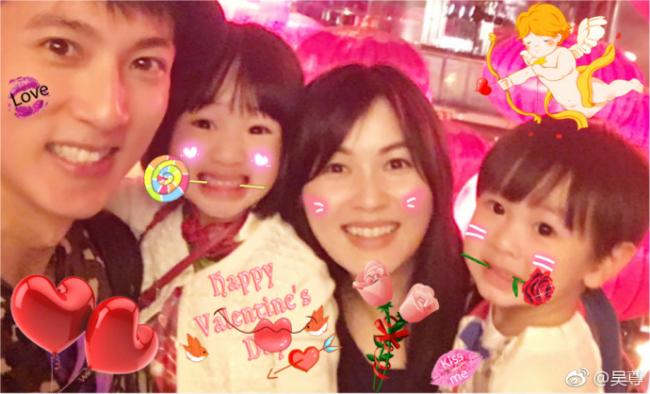 Valentineđậm hương vị giađình của nhà Ngô Tôn.