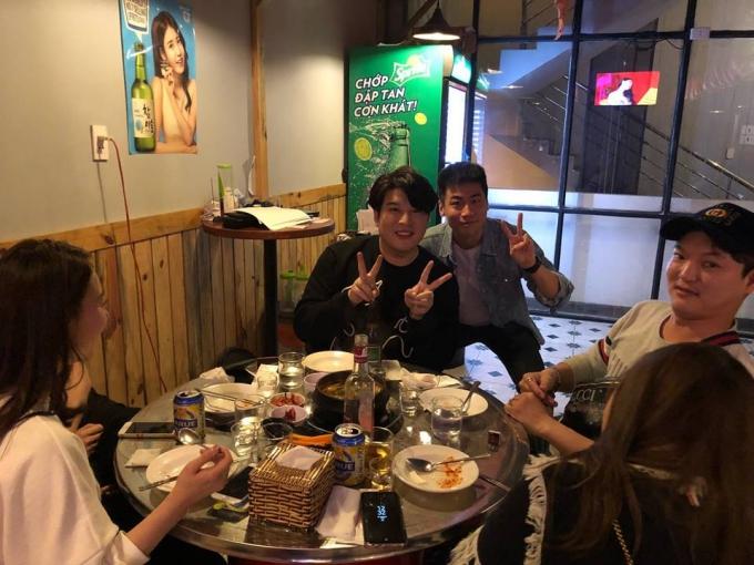 Thành viên nhóm nhạc Super Junior đón năm mới ở Đà Nẵng