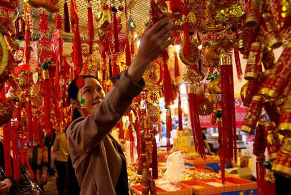Người châu Á tưng bừng đón năm mới Mậu Tuất - 5
