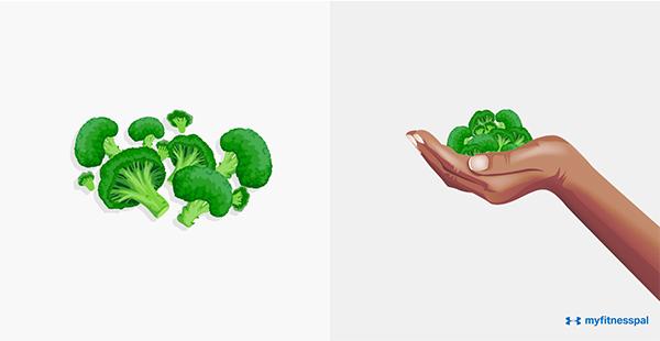 Các loại rau không chứa tinh bột (bông cải xanh, súp lơ, dưa chuột, cà chua, hành, măng tây... ) nên ă