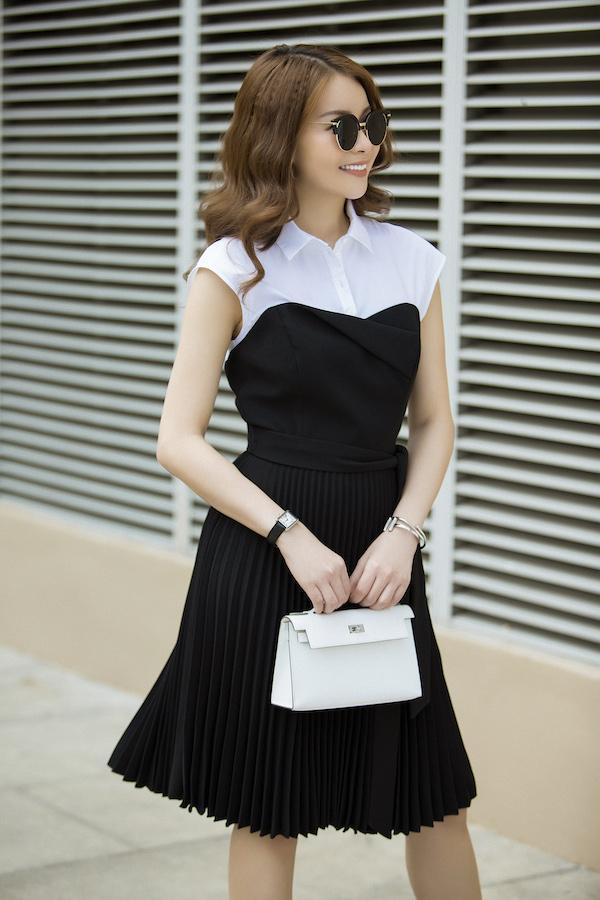 Đơn giản trong thời trang là phương châm sống là những gì hoa hậu luôn hướng tới.
