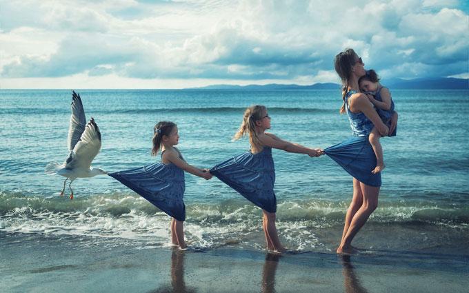 Ông bố tìm thấy đam mê cuộc đời khi chụp ảnh bốn đứa con - 3