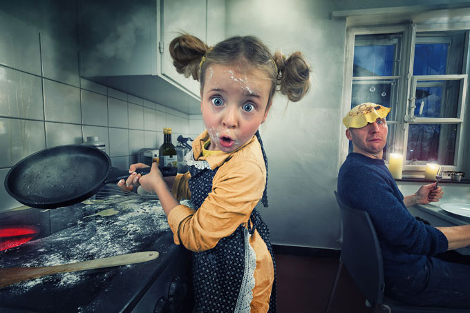 Ông bố tìm thấy đam mê cuộc đời khi chụp ảnh bốn đứa con - 5