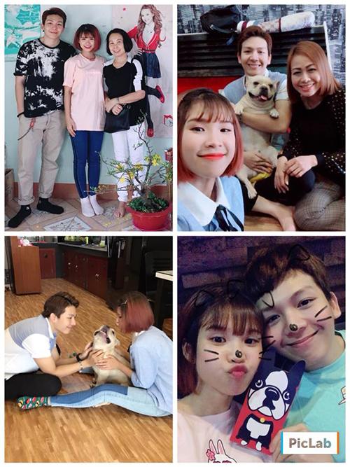 Khởi My và Kelvin Khánh hạnh phúc bên nhau trong cái Tết đầu tiên nữ ca sĩ về làm dâu.