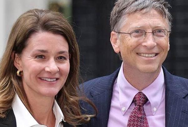Vợ chồng Bill Gates chỉ để lại một phần rất nhỏ trong khối tài sản khổng lồ cho ba đứa con. Ảnh: Twitter.