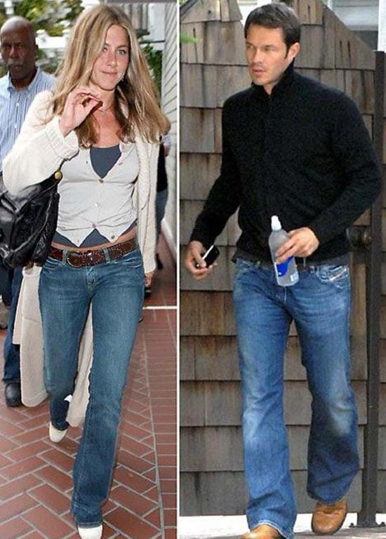 Một năm sau, Aniston được trông thấy nắm tay người mẫu điển trai xứ sương mù, Paul Sculfor, đi ăn tối. Tuy nhiên paparazzi đã không chụp được thêm bức ảnh nào của hai người sau đêm đó. Chàng mẫu này cũng có thời gian hẹn hò cô đào Cameron Diaz.
