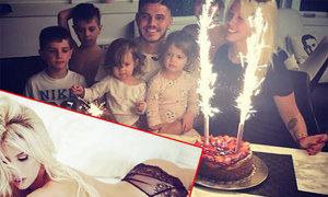 Vợ đăng ảnh nóng bỏng mừng sinh nhật Icardi