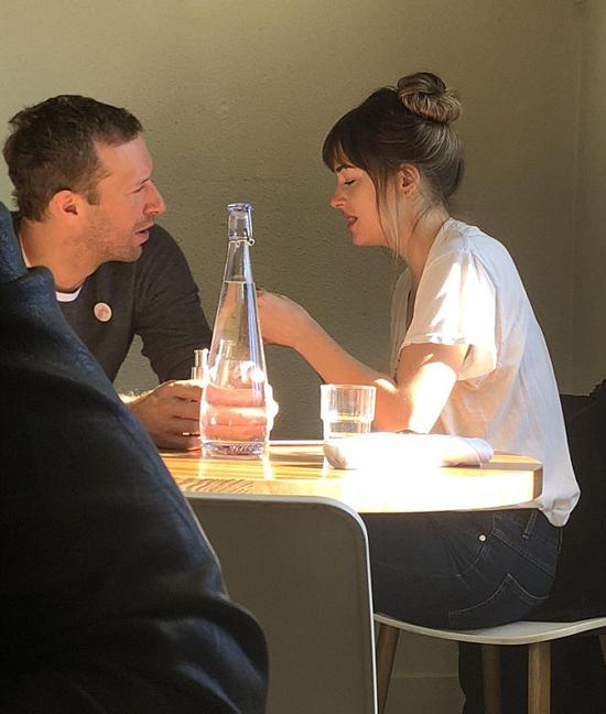 Cặp sao tại nhà hàng Heirloom.