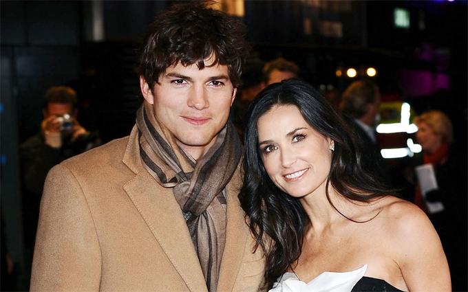 Demi và Ashton từng là một cặp đôi nổi tiếng ở Hollywood.