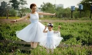 Con gái Thanh Huyền 'Bước nhảy ngàn cân' muốn dành tiền lì xì mua ôtô cho mẹ