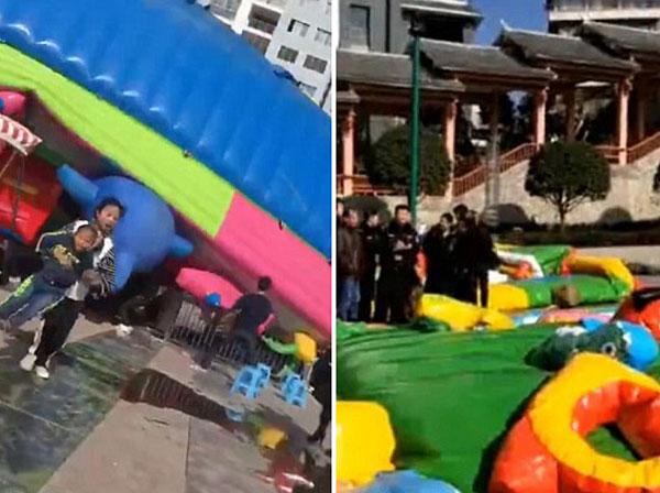 Sự việc diễn ra vào ngày Tết ở Trung Quốc.