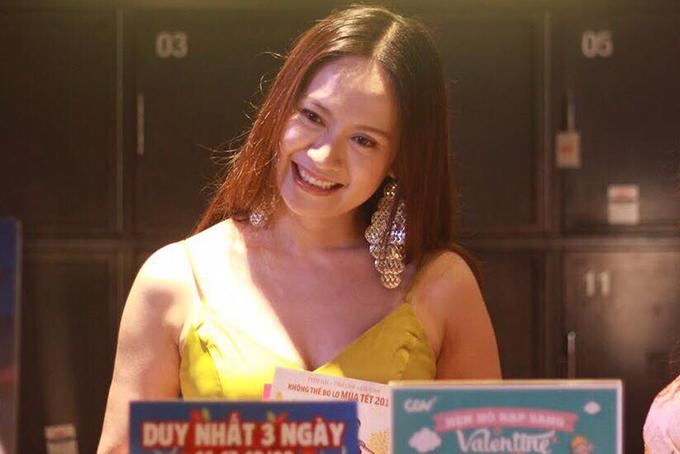 Diễn viên - nhà sản xuất Thanh Thuý.