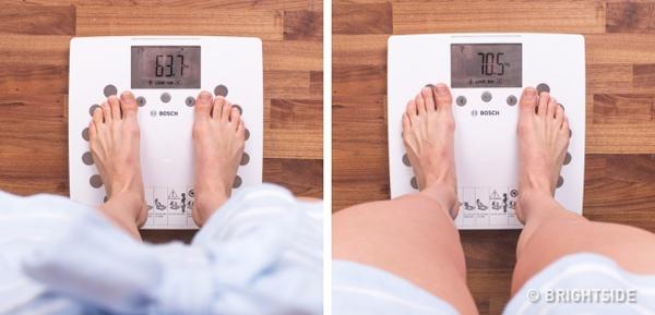 Một yếu tố dễ nhận thấy nhất khi bạn bị mất cân bằng hormone là cân nặng thay đổi đột ngột.
