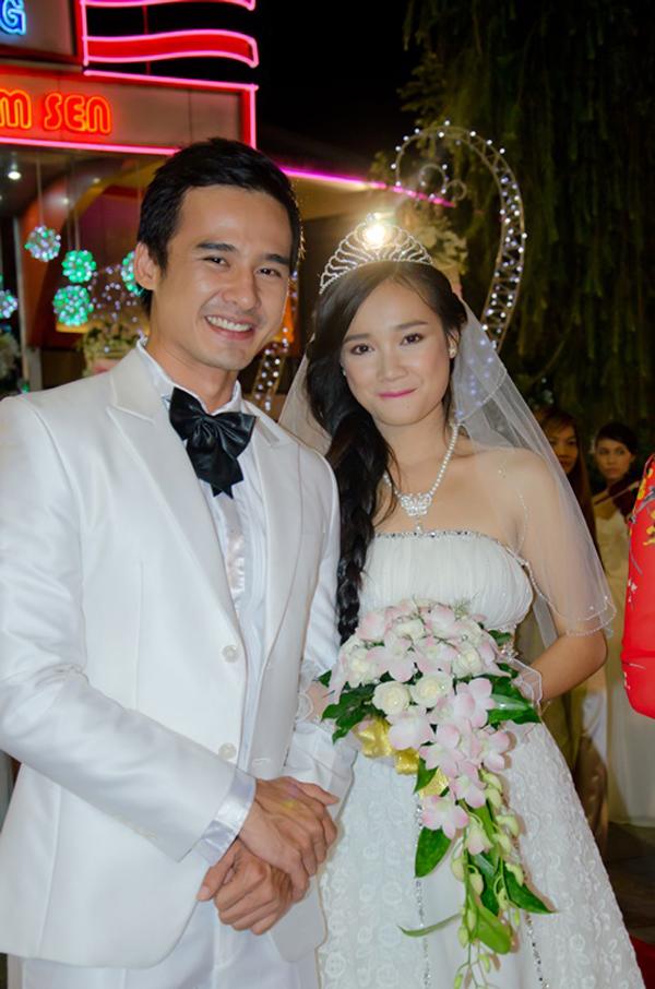 Lương Thế Thành và Nhã Phương từng đóng vai yêu nhau trong phim Cuộc chiến quý ông.