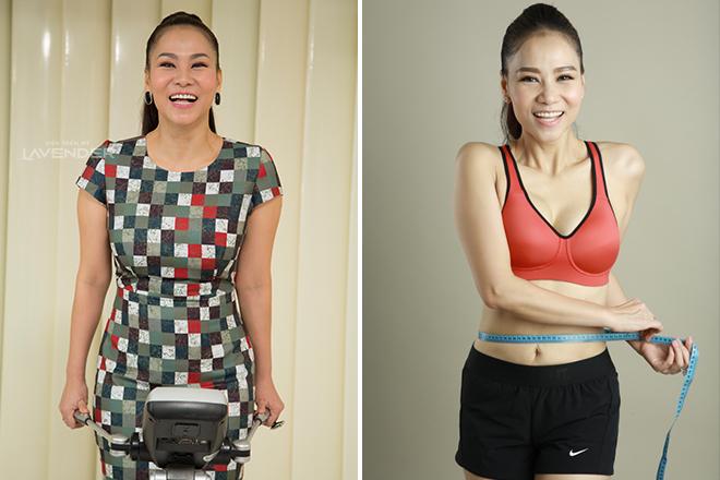 Khách hàng cũng có thểgiảm béo miễn phí với công nghệ giúp ca sĩ Thu Minh loại bỏ 10kg sau sinh.