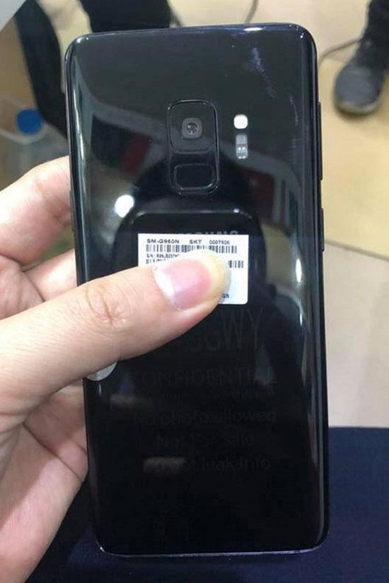 Galaxy S9 lộ ảnh thực tế - 1