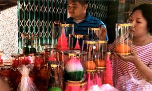 Chợ người Hoa ở Sài Gòn nhộn nhịp trước ngày Thần Tài