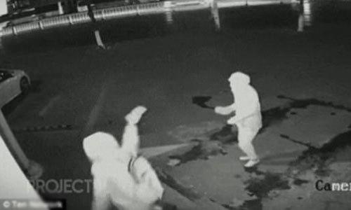 Vô tình ném gạch vào đầu đồng bọn khi đang phá cửa ăn trộm