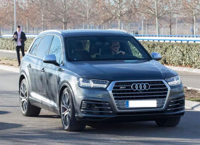 Gareth Bale prefers a sturdy Audi SQ7 TDI