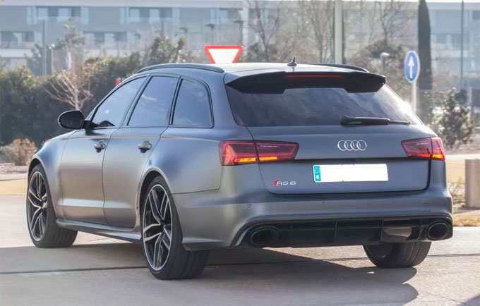 The Audi RS6 Quattro Sergio Ramos goes to training in is worth around £80k