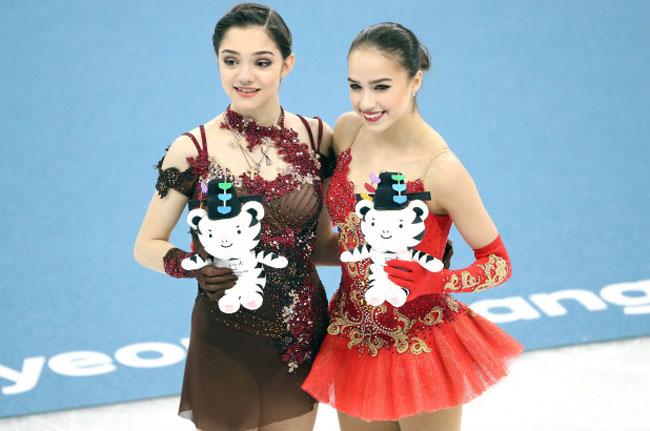 Nữ VĐV trượt băng 15 tuổi của Nga vô địch Olympic PyeongChang - 1