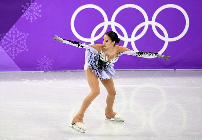Nữ VĐV trượt băng 15 tuổi của Nga vô địch Olympic PyeongChang - 12