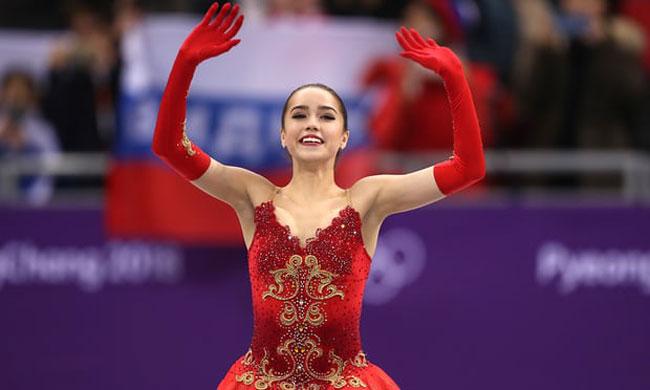 Nữ VĐV trượt băng 15 tuổi của Nga vô địch Olympic PyeongChang - 4