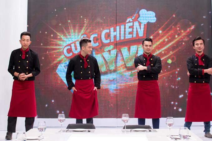 4 đầu bếp của chương trình trổ tài nấu những món ăn đẹp da, tốt cho sức khỏe để đãi hai vịkhách mời. Tập 7 Cuộc chiến mỹ vị phát sóng tối 26/2 trên Đài truyền hình Việt Nam.