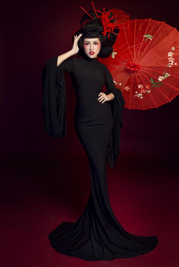 Bộ ảnh do chuyên gia trang điểm Ling Nguyễn hỗ trợ thực hiện.