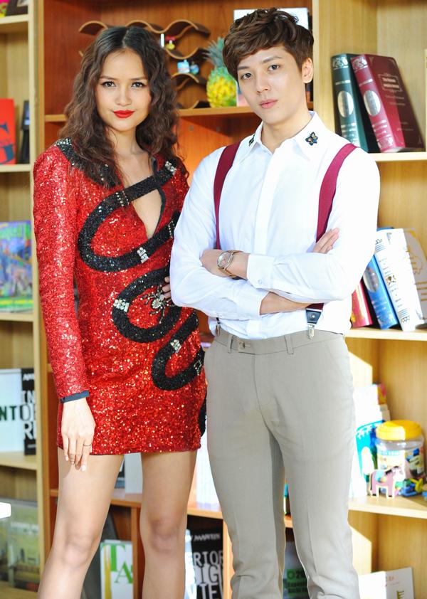 Quán quân Vietnams Next Top Model Ngọc Châu lần đầu diễn xuất cùng hot boy Kent Phạm.
