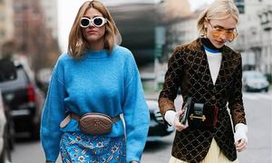 Tín đồ thời trang thế giới tiếp tục mê đắm túi đeo hông