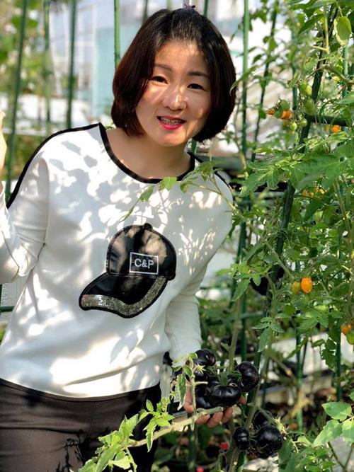 Vườn dâu đỏ rực trên sân thượng 100 m2 - 5