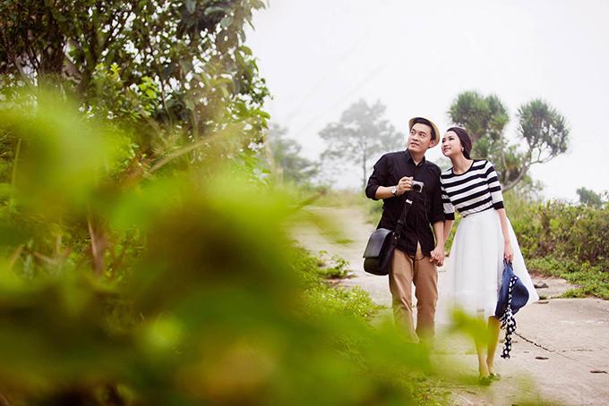 Vợ Lam Trường khoe ảnh cưới chụp ở đèo Hải Vân 4 năm trước - 8