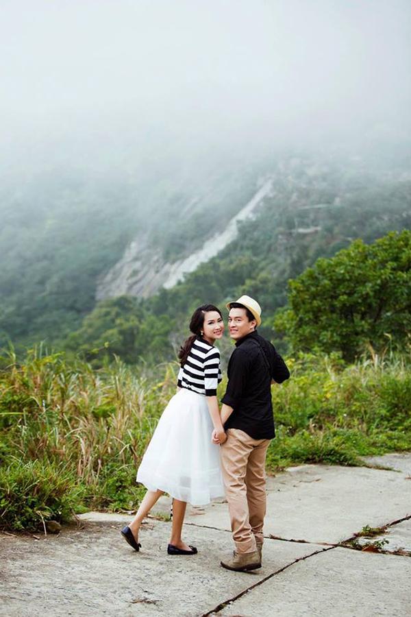 Vợ Lam Trường khoe ảnh cưới chụp ở đèo Hải Vân 4 năm trước - 10